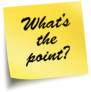 Find the point in your PowerPoint